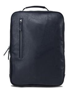 Rivets Base Zippered Backpack
