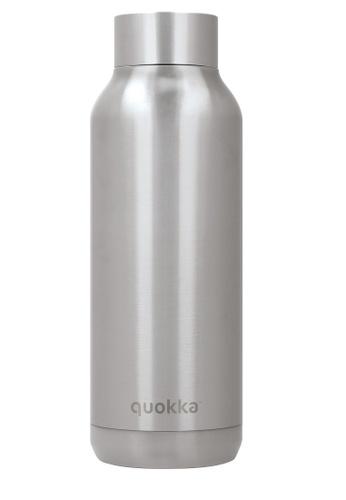 QUOKKA QUOKKA STAINLESS STEEL BOTTLE SOLID STEEL 510 ML 65C44AC9D9177EGS_1