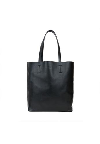 Obx Black Leather Tote Bag 91ce7acfc9b9e2gs 1