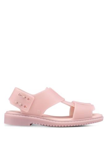 Melissa 粉紅色 Melissa Ladyless Ad 涼鞋 76496SH3EA957FGS_1