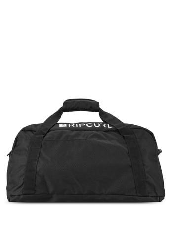 zalora 台灣門市中型暗紋旅行袋, 包, 運動