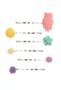 Set of 6 Pieces Hair Pin Clip 25