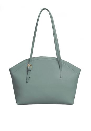 Twenty Eight Shoes blue VANSA Simple Leather Tote Bag VBW-Tb9943 2078FAC2599C63GS_1