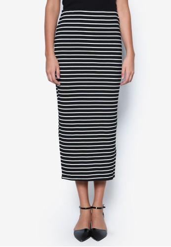 條esprit服飾紋鉛筆裙, 服飾, 印花時代