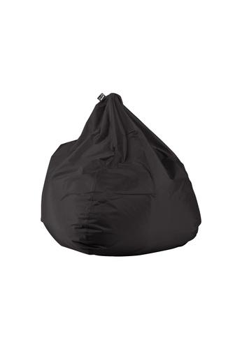 doob black PLOP - teardrop-shaped spill-proof doob bean bag (Jet Black) C4A6AHL1A572F4GS_1