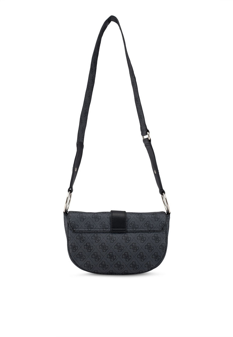 bb4ad06ff0 Black Coal Guess Shoulder Bag Florence Friday TIq40Fw   implication ...