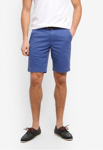 Brooks Brothers 海軍藍色 休閒短褲 38D83AAA6DFCFBGS_1