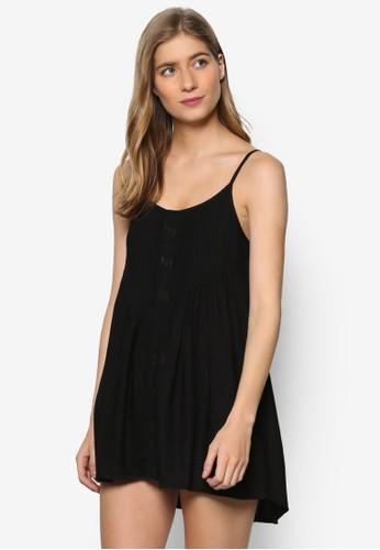 Kalari 細肩帶沙salon esprit 香港灘風連身裙, 服飾, 服飾