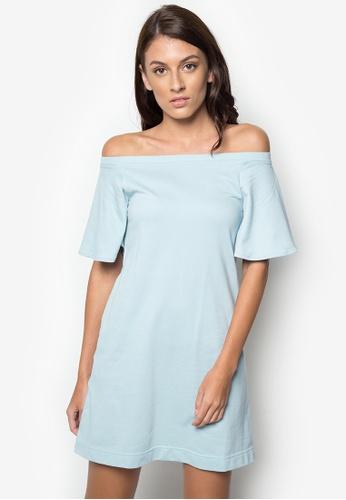 847fe6a76837 Shop NEXT Off-Shoulders Flowy Dress Online on ZALORA Philippines