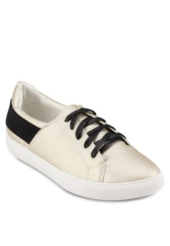 zalora是哪裡的牌子蛇紋拼接繫帶運動鞋, 女鞋, 休閒鞋
