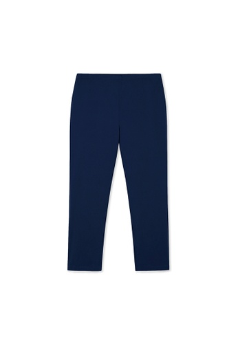MS. READ navy MS. READ Signature Ultra-Stretch Long Pants (NAVY) 81351AAA3FAAD7GS_1