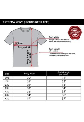 Extrema black Extrema Big Size Round Neck Raglan Short Sleeve With Round Hem 0XL-4XL (Black) EX1044 70E82AAE731580GS_1