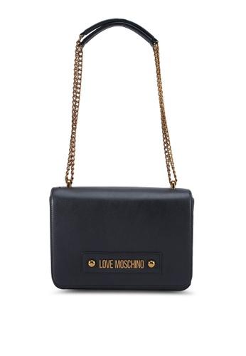 cute cheap best sneakers high fashion Buy Love Moschino Classic Logo Shoulder Bag Online   ZALORA Malaysia