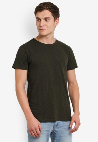 !Solid green Karrson Printed T-Shirt SO701AA0S2VDMY_1