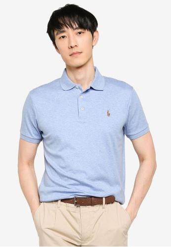 Polo Ralph Lauren 藍色 Custom Slim Fit Polo Shirt 0012EAABF432D8GS_1