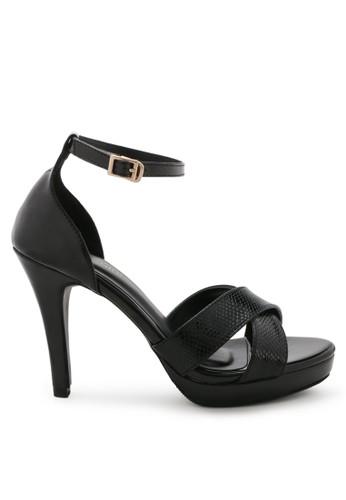 Shoecrime black Valeria Platform Heels 1667ASH62C5E2DGS_1