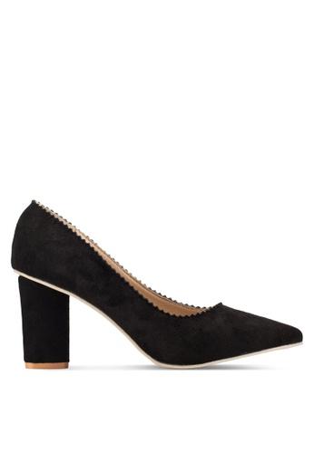 Sunnydaysweety 黑色 新款黑色經典尖頭高跟鞋 RA10116 F947ASH42B7948GS_1