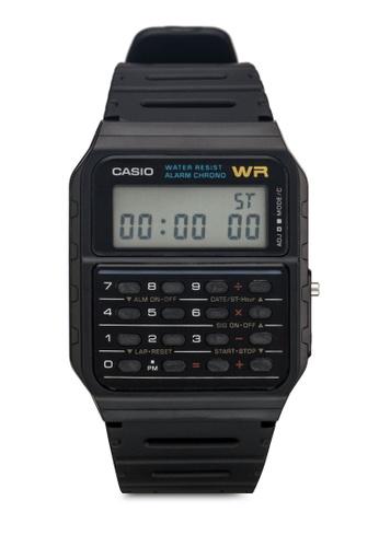 Casio black Casio CA-53W-1ZDR Men's Watch CA843AC51YPWMY_1