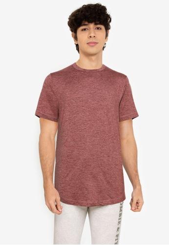 Abercrombie & Fitch brown Air Knit Crew T-Shirt 7FB0BAA117E265GS_1