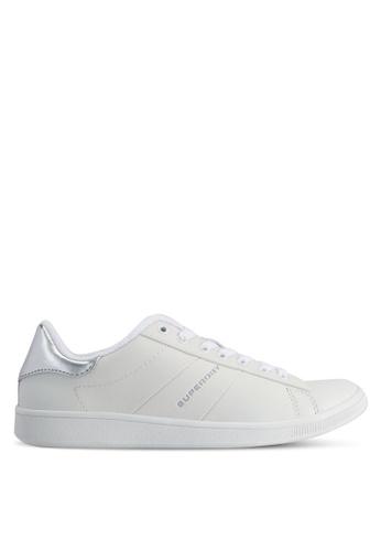 Superdry white Harper Trainers E2EC0SH6146221GS_1