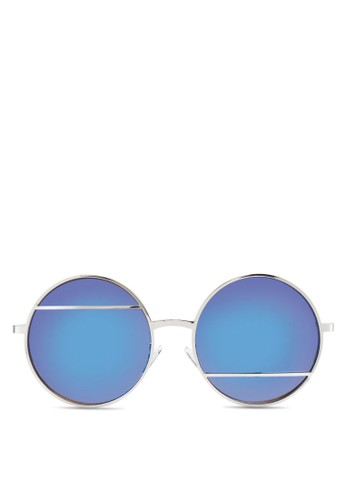 Jesprit 高雄P0122 圓框太陽眼鏡, 飾品配件, 飾品配件