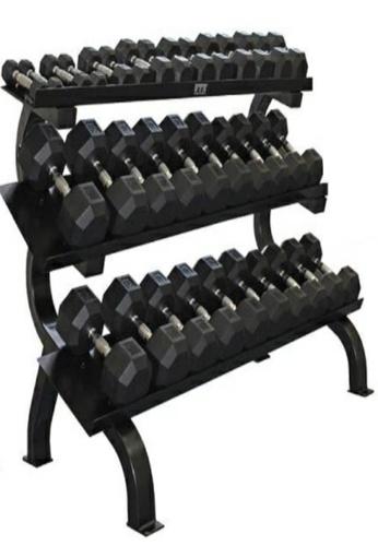 LIVE UP AND LIVE PRO. black 3-Tier Commercial Dumbbells Rack D80C8SE23361B3GS_1