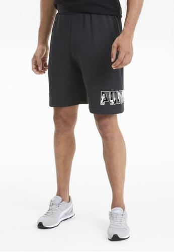 """Puma black Rebel Camo 9"""" Men's Shorts 975A9AA9DB7D67GS_1"""