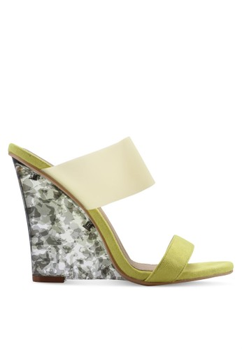 EGO yellow Helena Wedges FAED6SH47E5BC7GS_1