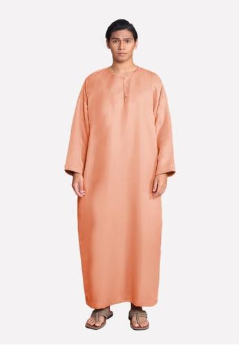 LosraVelda orange Abu Jubah 75371AA41DD088GS_1