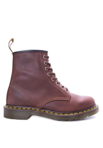 Dr Martens brown Men's 1460 8 Eye Boots DR086SH55LDKPH_1