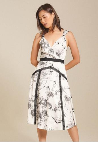Dressing Paula white Lace-Trimmed Dress 27AB2AAD1B95FAGS_1