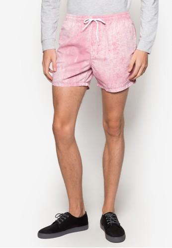 素色休閒zalora是哪裡的牌子短褲, 服飾, 泳褲及沙灘造型
