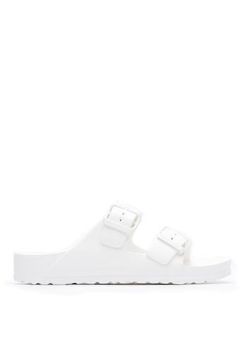 Life8 白色 Casual 輕羽量 漂浮涼拖鞋 - 09595 - 白色 LI216SH48PELTW_1