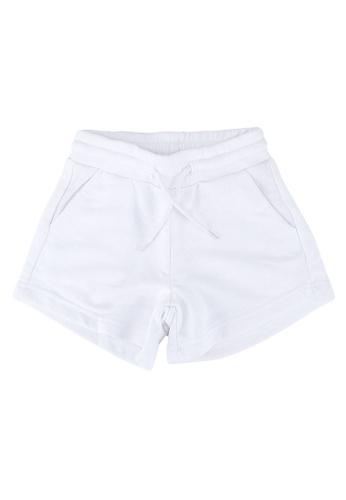 FOX Kids & Baby white Casual Shorts 566BDKA27D58EDGS_1