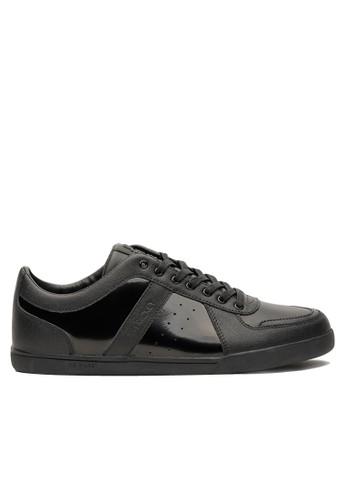 格紋皮革漆皮都會休閒鞋、 鞋、 休閒鞋JIMRICKEY格紋皮革漆皮都會休閒鞋最新折價