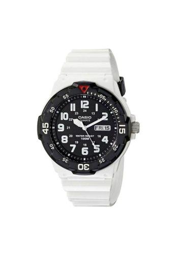 Casio white CASIO GENERAL MRW-200HC-7BVDF UNISEX'S WATCH 0DE4BAC8CE2B1AGS_1