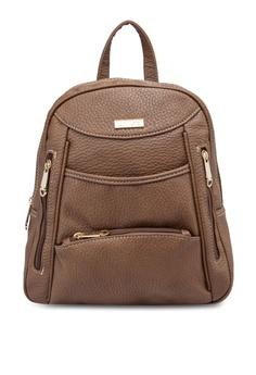 bdbf8e031517 Unisa brown Vintage Contrast Stitching Ladies Backpack UN821AC35DSYMY 1