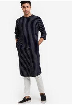 Image of Harrouda Long Shirt Top