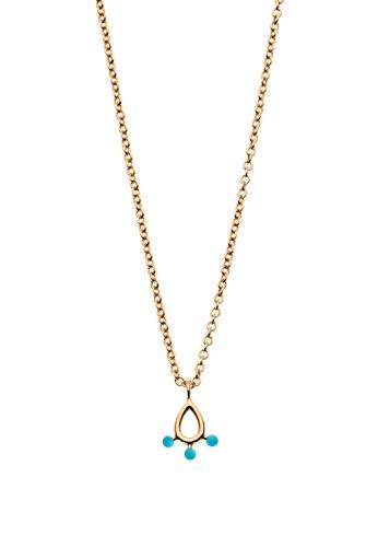 Dear Addison gold Aqua Waters Necklace 4E020ACAD896E2GS_1