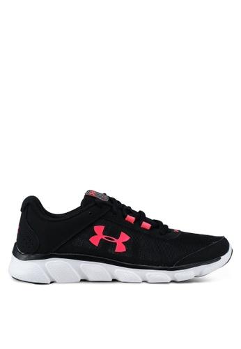 Under Armour black UA W Micro G Assert 7 Running Shoes 4D45BSH1264203GS_1