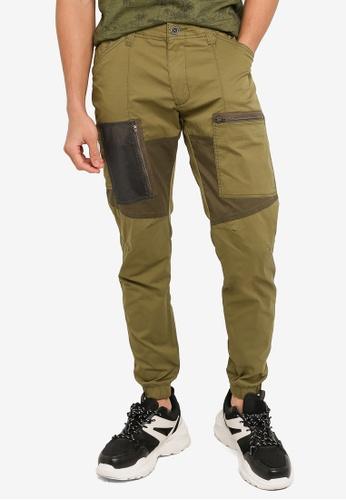 SPARROW GREEN green UMA X Cargo Pants B871EAA614F17DGS_1