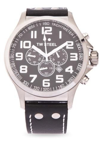 TW Steel black TW413 Pilot Analog Watch TW310AC0KMCDPH_1