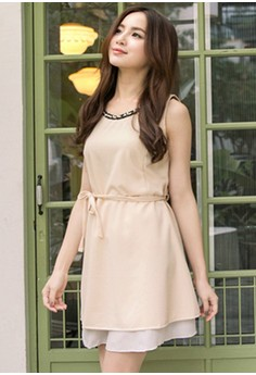 [IMPORTED] Sweet Desire Femme Dress - Apricot
