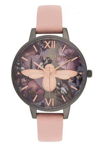 Olivia Burton pink Olivia Burton Twilight DUSTY PINK 34mm Women's Watch 4E97BAC345656DGS_1