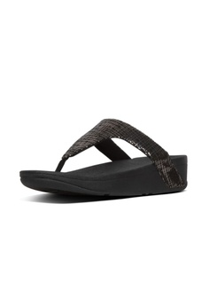 08e7dfc1bf 19% OFF Fitflop Fitflop Lottie Chain Print Toe-Post Black RM 369.00 NOW RM  299.00 Sizes 5 6 7 9