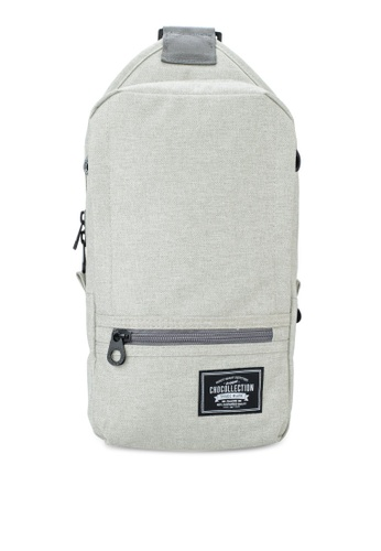 Chocollection grey Cubie Backpack 071DDACA56E7A7GS_1