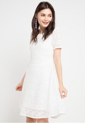 EPRISE white Quinn Dress F9874AA0F9DF12GS 1 923207cbfc