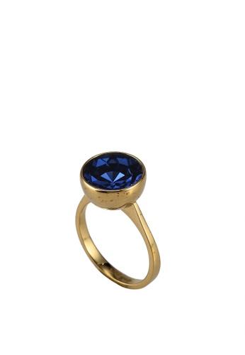 kate spade new york blue Reflecting Pool Ring (cv) EA10AAC6DB4C8AGS_1