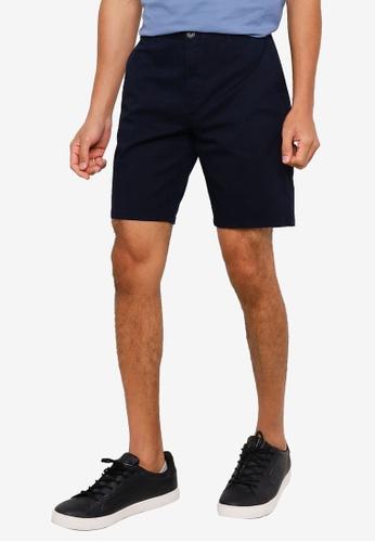 Springfield navy Elastic Chino-Style Bermuda Shorts 3587CAA851738FGS_1