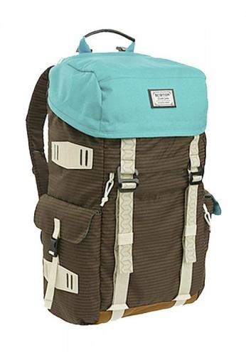 Burton Snowboard brown and green Annex Backpack BU506AC0GGPESG_1